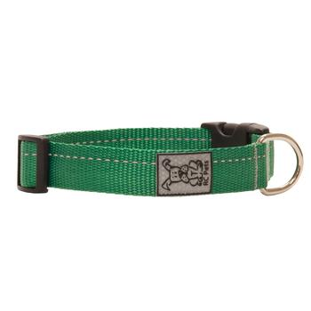 Primary Clip Dog Collar - Green - Metro Pit Trading Co.