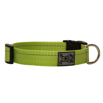 Primary Clip Dog Collar - Lime - Metro Pit Trading Co.