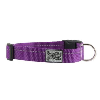 Primary Clip Dog Collar - Purple - Metro Pit Trading Co.