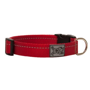 Primary Clip Dog Collar - Red - Metro Pit Trading Co.