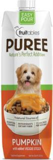 Fruitables Easy Pour Pumpkin Puree Dog Food Topper - Metro Pit Trading Co.