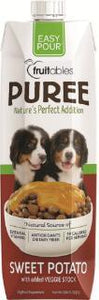 Fruitables Easy Pour Sweet Potato Puree Dog Food Topper - Metro Pit Trading Co.