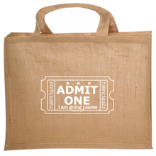 "Load image into Gallery viewer, ""I Am Going Places"" Jute Tote"