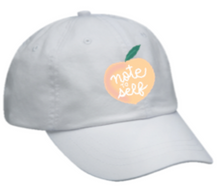 Load image into Gallery viewer, Note to Self™ Logo Cap (White)