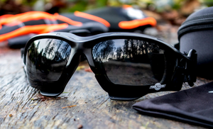 Smoke Tinted Safety Glasses are perfect for working outdoors!
