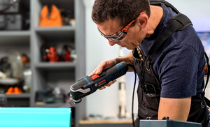 Why Zach Settewongse, Artist, Maker and Content Creator, wears ToolFreak Safety Glasses in the workshop.