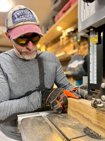 Becoming a WoodWorker- Top tips for beginners! ToolFreak Safety Glasses blog post