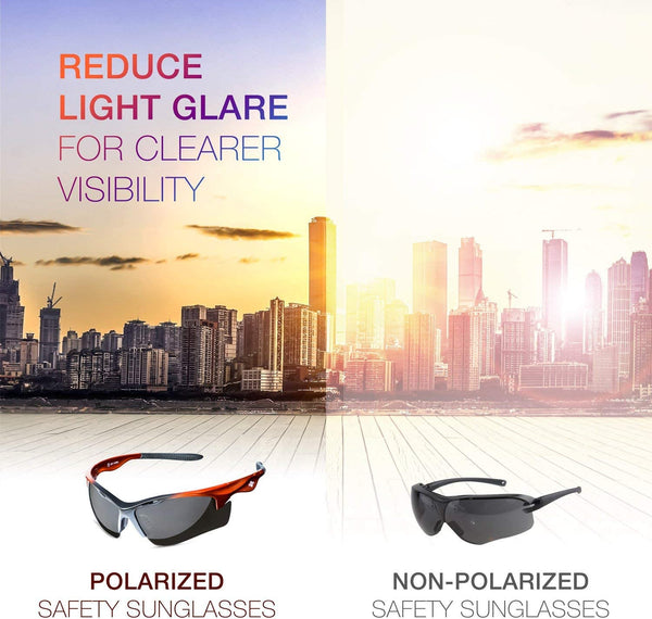 What are the benefits of wearing Polarized Safety Glasses?