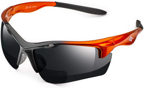 ToolFreak Rebel Bifocal Safety Glasses Tinted Lens 1.5