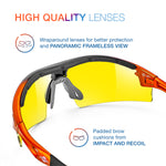 ToolFreak Reevo Safety Glasses HD Yellow Lens