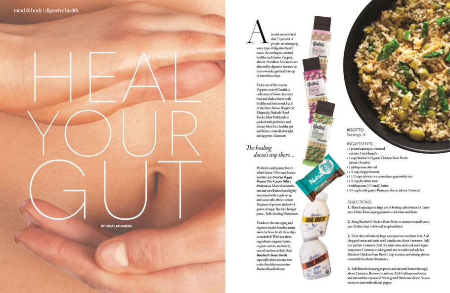 Heal Your Gut, Gutsii in Bella Magazine June Feature
