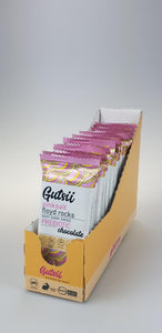Gutsii Prebiotic Dark Swiss Chocolate - Pinksalt Floyd Rocks 21x25g Box Set