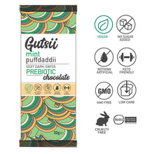 Gutsii Prebiotic Dark Swiss Chocolate - Mint Puffdaddii - 20x32g Box Set