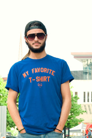 My Favorite Tee - Men's Tee - Royal Blue