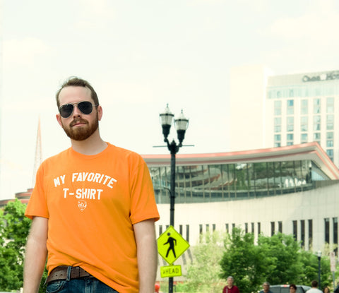 My Favorite Tee - Men's Tee - Orange