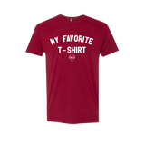 My Favorite Tee - Men's Tee - Cardinal