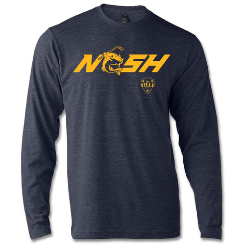 Stanley NSH Heather Navy Longsleeve