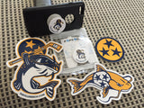 Stanley the Catfish Pop Socket and Decal 4 Pack