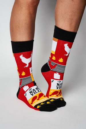 Load image into Gallery viewer, Adult Hot Chicken Socks