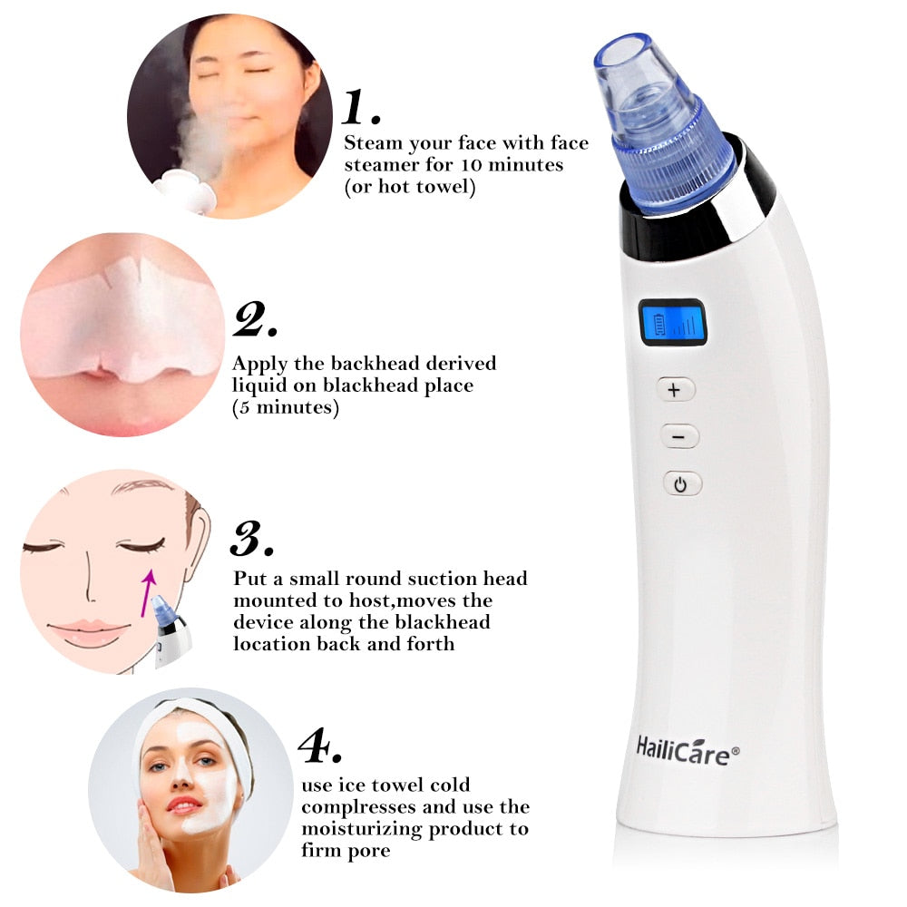 Skin Care Pore Vacuum Blackhead Remover