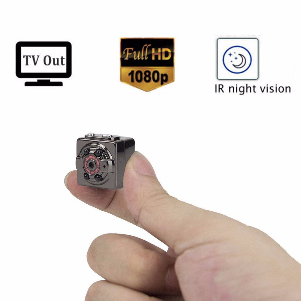 Digital Cam Micro Full HD IR Night Vision Smallest DV DVR Camcorder