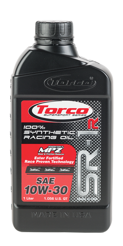 Torco SR-1R Synthetic Racing Oil