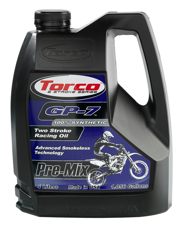Torco GP-7 2-Stroke Racing Oil 4 liter