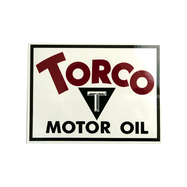 Torco Vintage Decal