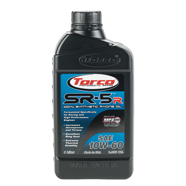 Torco SR-5R 10W60 Synthetic Racing Oil