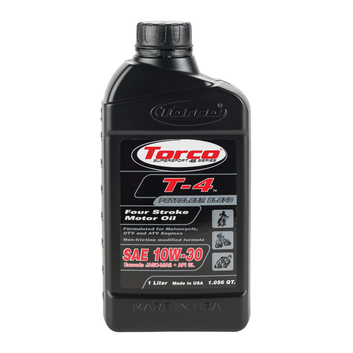 T-4 Four Stroke Motor Oil - TorcoUSA