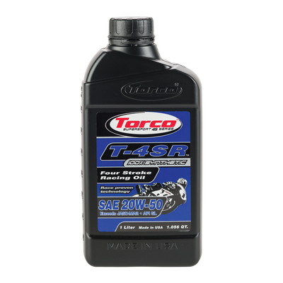 Torco T-4SR 20W50 Four Stroke Motorcycle Racing Oil