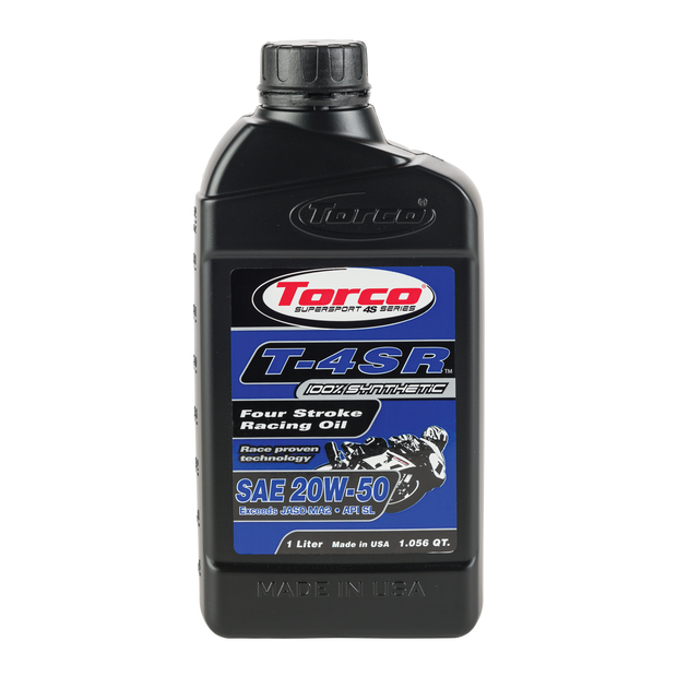 Torco T-4SR 20W50 Four Stroke Racing Oil