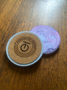 EarthTech Lifestyle Upcycled Resin Coasters