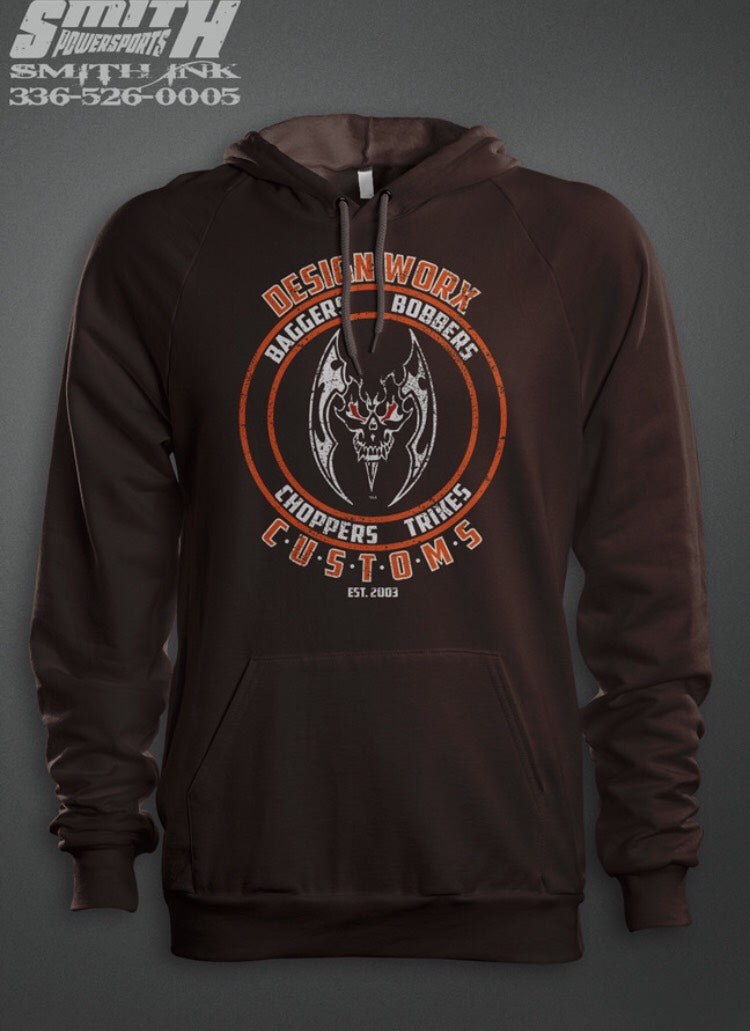 Design Worx Customs Brown Sweatshirt