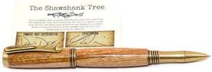 Shawshank Tree Jr George Antique Brass Fountain Pen - COA - 3 Gen Pen Company