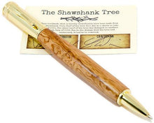 Load image into Gallery viewer, Shawshank Tree Zen Gold finish Rollerball Pen - 3 Gen Pen Company