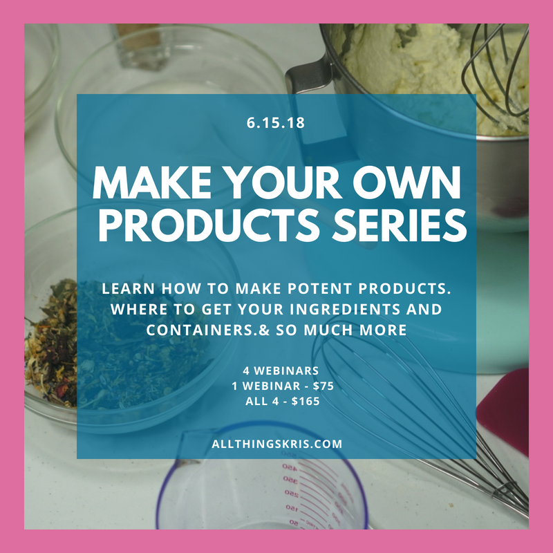 Product Making Webinar Series