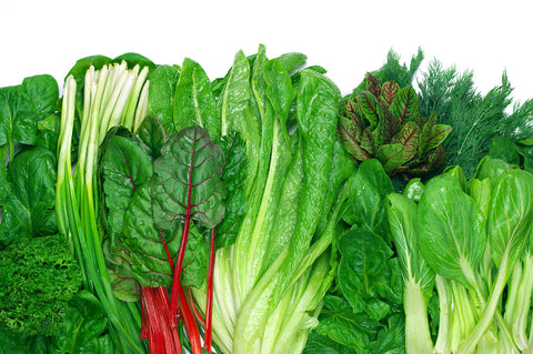 Greens to grow in a late summer garden