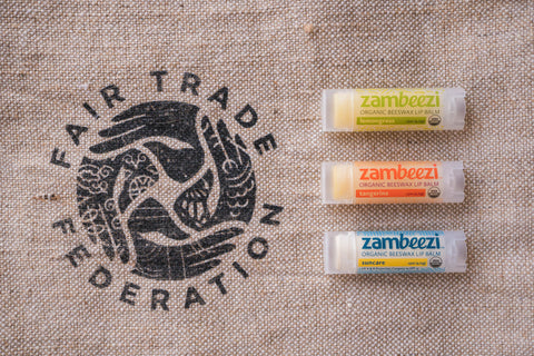 Zambeezi is a member of the Fair Trade Federation - the best organic lip balm begins with the farmer and their ingredients