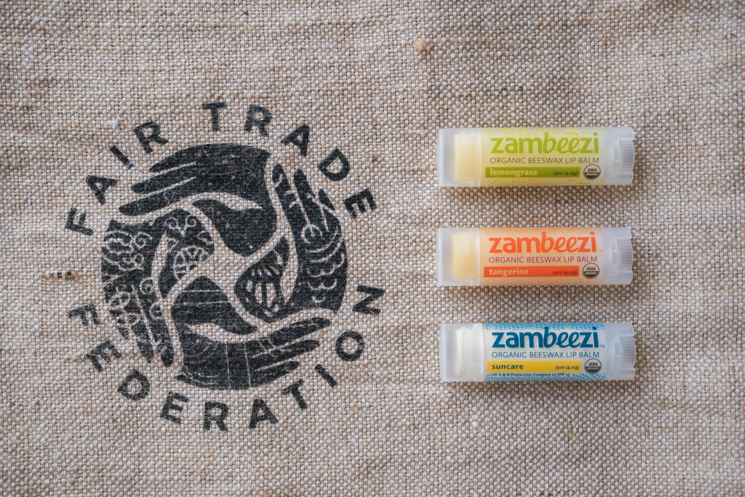 Fair Trade, Organic Beeswax lip balm crafted from the best ethically sourced ingredients.