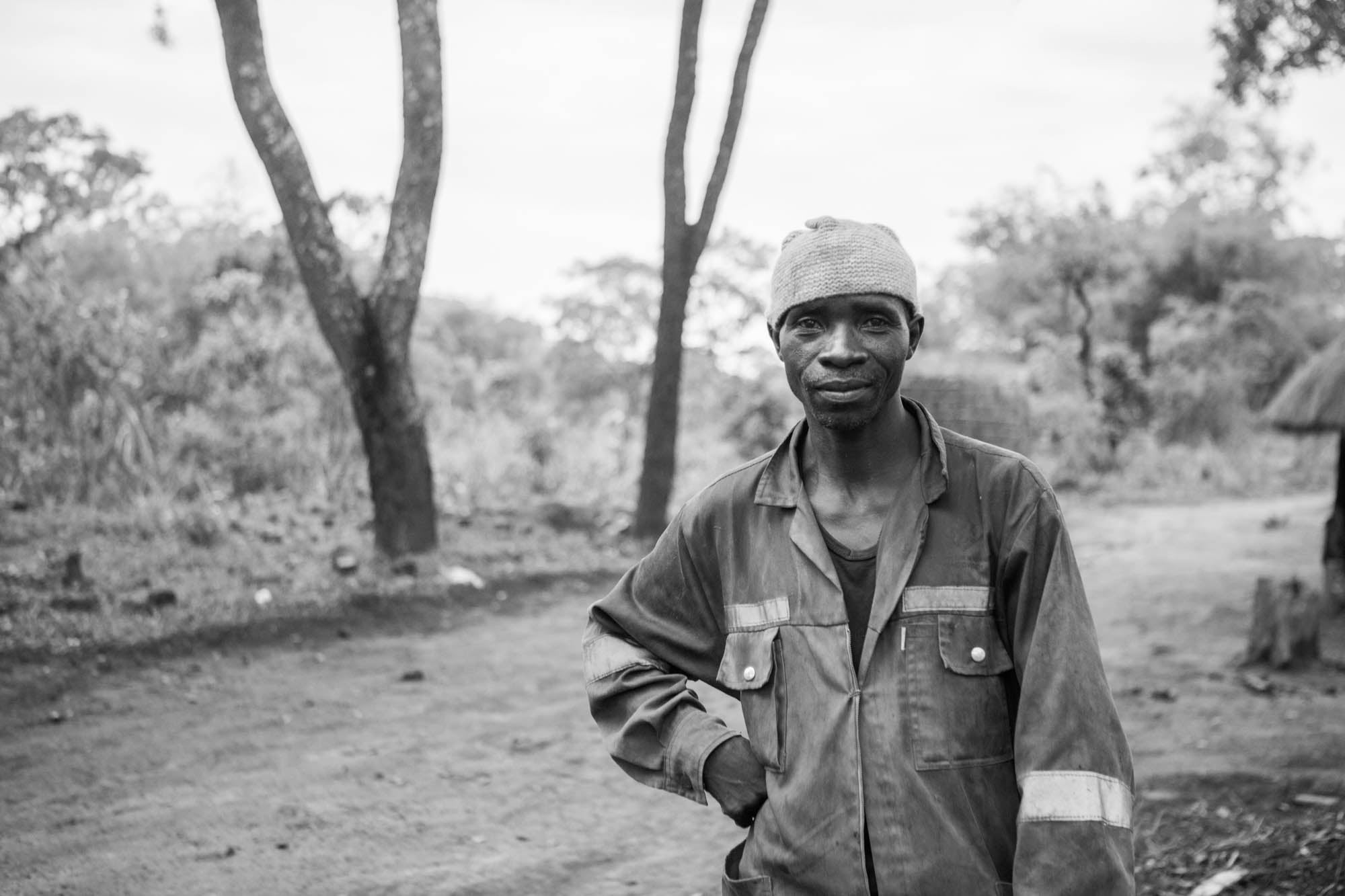 Copper Miner from the Copperbelt of Zambia