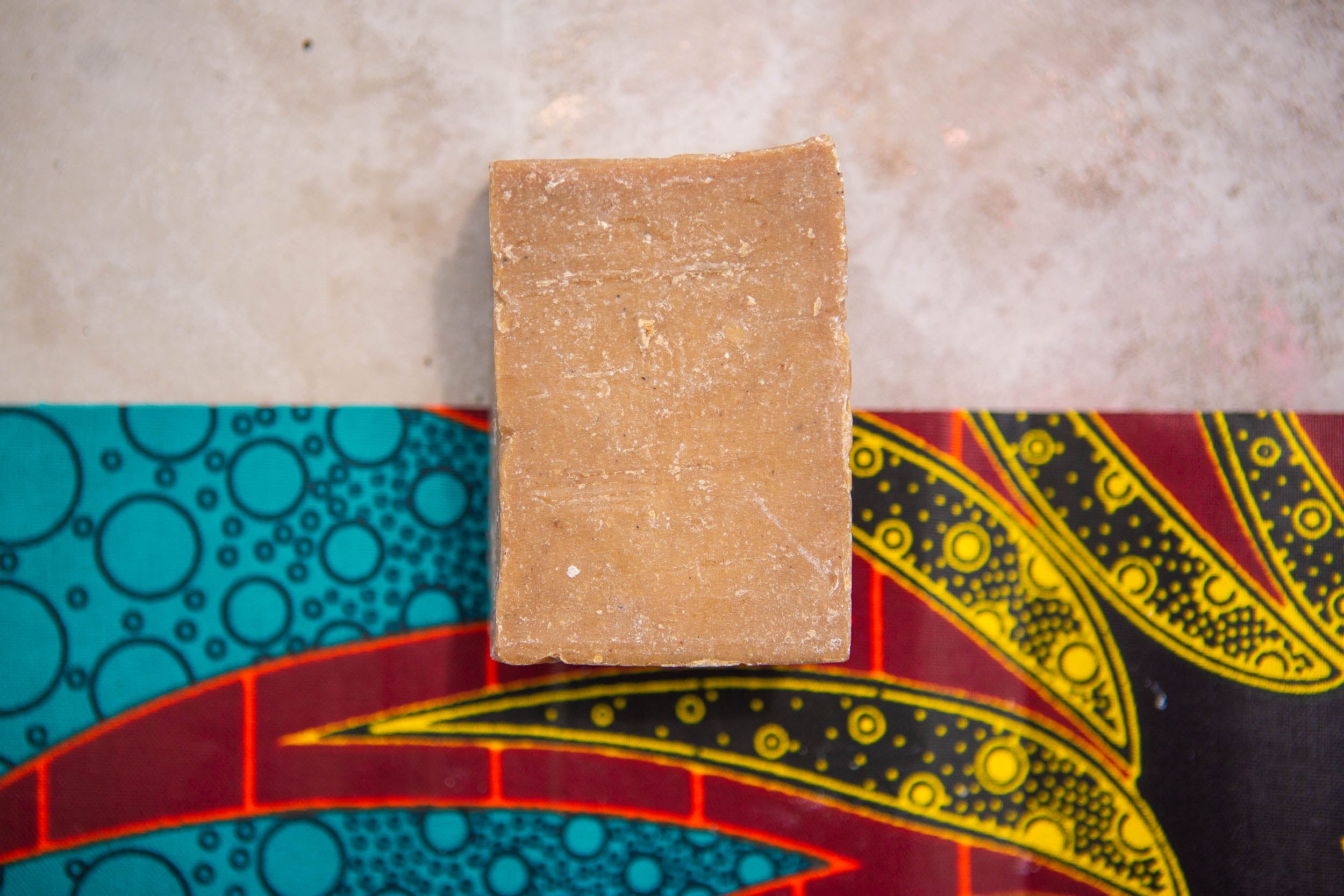 Zambeezi hand made, Fair Trade, beeswax soap crafted from ethically sourced, sustainable palm kernel oil