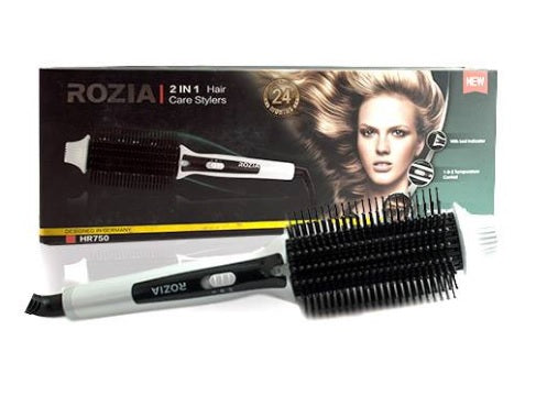 ROZIA 2-IN-1 CARE STYLERS HR750