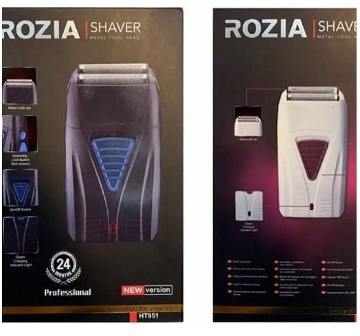 ROZIA RECHARGEABLE SHAVER HT951