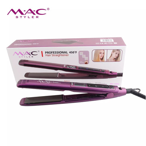 MAC STYLER PROFESSIONAL HAIR STRAIGHTENER MC2093 - cliqoshop