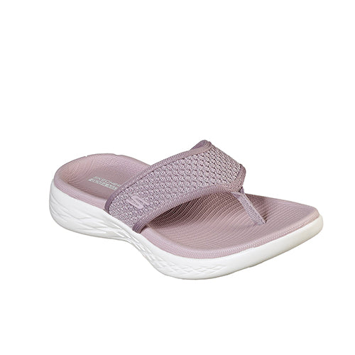 SKECHERS WOMEN ON THE GO 600 GLOSSY 16150-LIL - cliqoshop