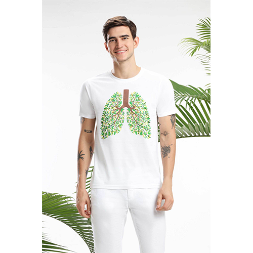 LUNG TREE MEN T-SHIRT sustainme