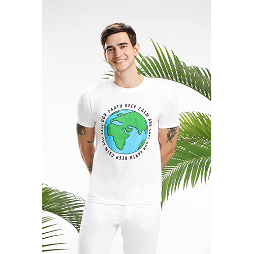 KEEP CALM AND SAVE OUR EARTH MEN T-SHIRT sustainme