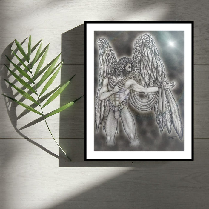 THE ANGELUS COLLECTION Kindness SKETCH ARTWORK