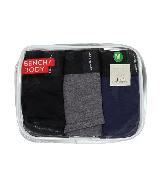 Bench Men's Hipster Brief 3 Pack Assorted Color II underwear - cliqoshop